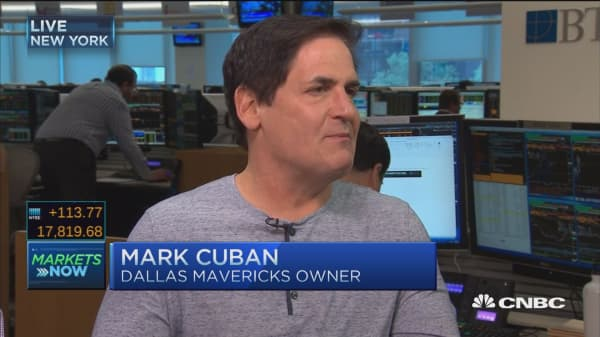 Mark Cuban: Trump deserves credit