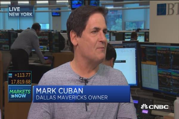 Mark Cuban: Trump deserves credit