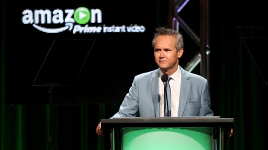 irector, Amazon Video on Demand, Roy Price speaks onstage during the Amazon Prime Instant Video portion of the 2014 Summer Television Critics Association at The Beverly Hilton Hotel on July 12, 2014 in Beverly Hills, California.