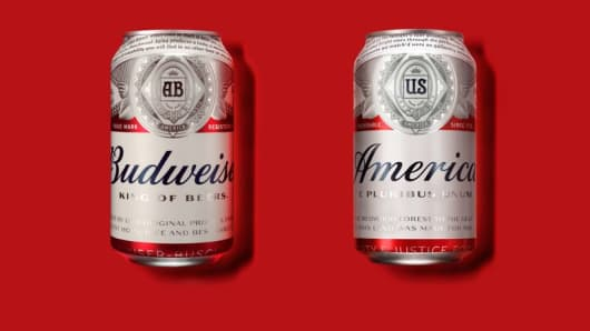 "Budweiser is renaming it's beer ""America""."