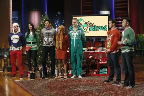 Tipsy Elves featured on Shark Tank.