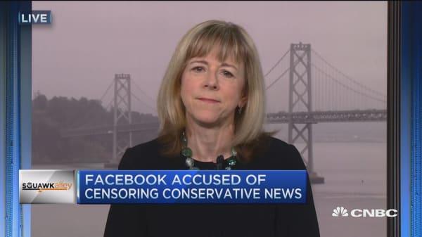 Facebook denies Gizmodo report