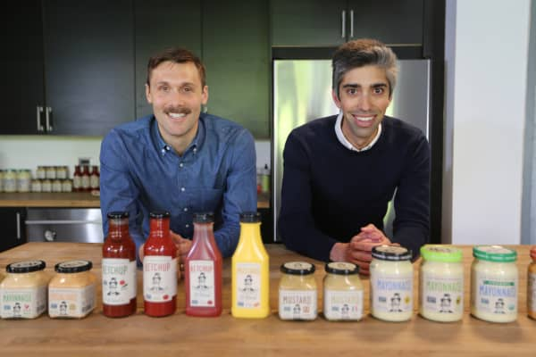 Scott Norton and Mark Ramadan are the co-founders of Sir Kensington's, an artisanal condiment company. Their products are sold at more than 5,000 retailers in North America including Whole Foods, Safeway and Fresh Market.