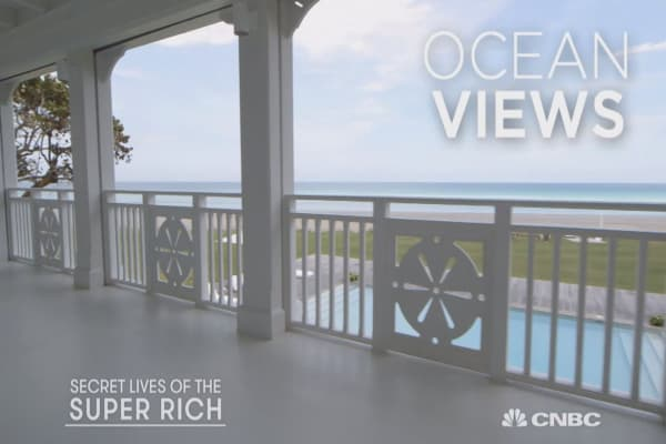 Celine Dion's $45,000,000 Island Oasis Part 2