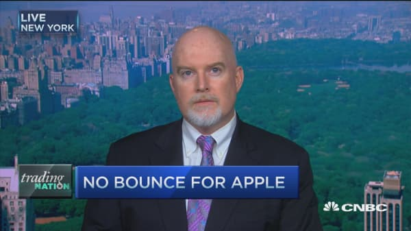 Trading Nation: No bounce for Apple