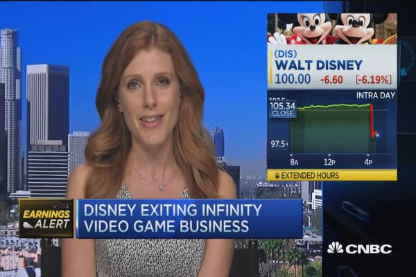 Disney exiting Infinity video game business