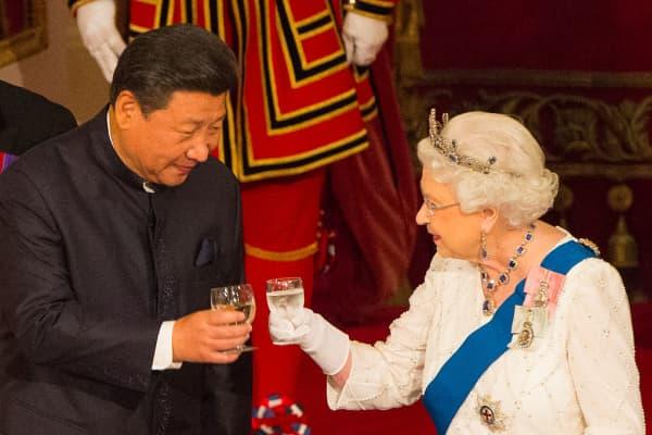 Queen Elizabeth II said Chinese officials were rude to the British ambassador.