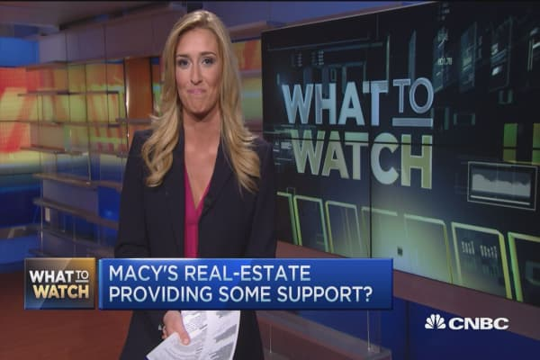 Street braces for Macy's results