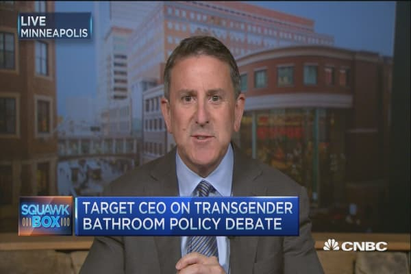 Target's bathroom policy: CEO