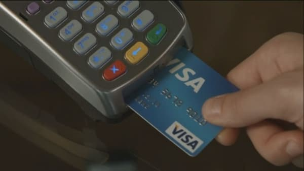 Walmart suing Visa over debit card transactions.
