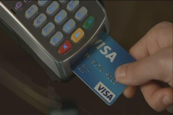 Walmart suing Visa over debit card transactions.