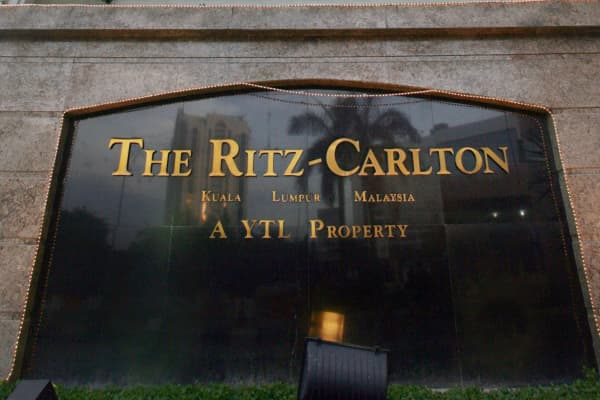 The recently refurbished Ritz-Carlton Kuala Lumpur is one of the jewels in YTL's property empire.