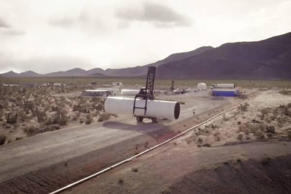Hyperloop One is on track to build the first Hyperloop by 2020.