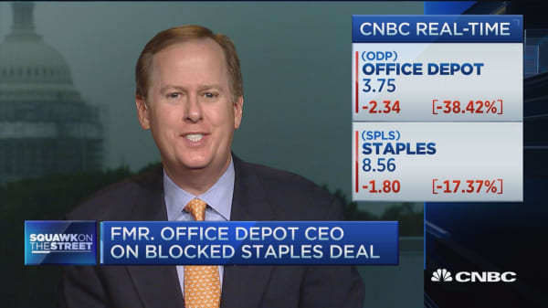 Former Office Depot CEO on blocked Staples deal
