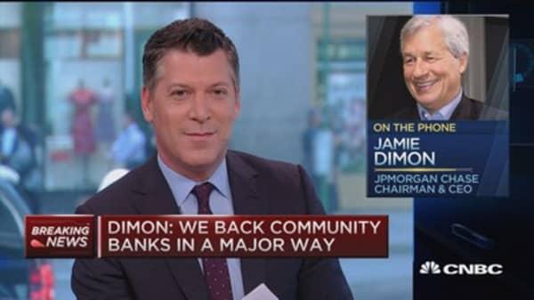 Jamie Dimon: I didn't cause 2016 stock bottom