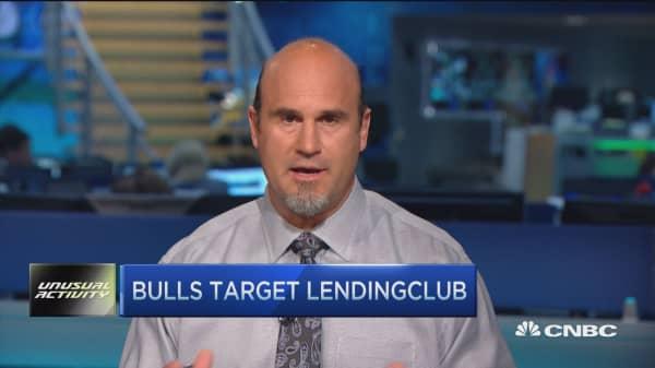 Trader buys LendingClub calls