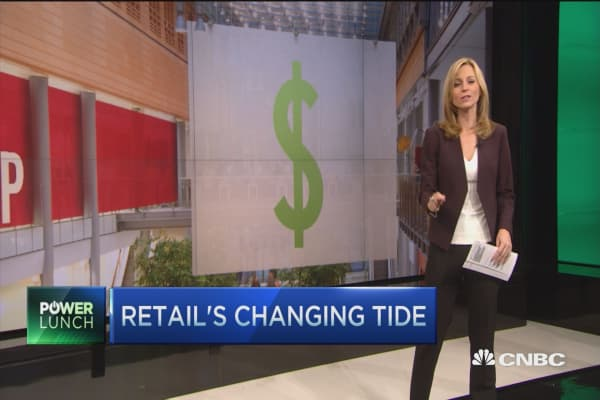 Big rout in retail