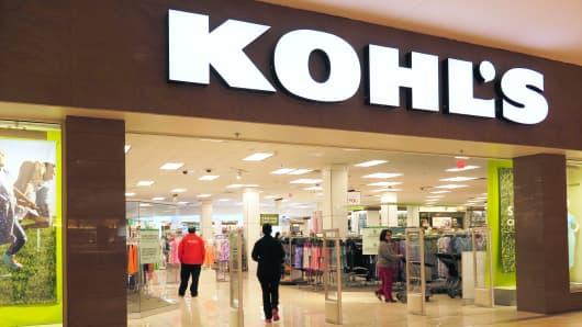 A Kohl's store in Jersey City, NJ.