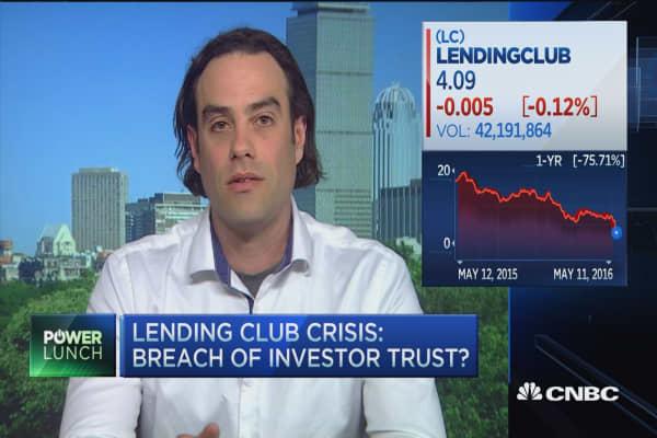 Crisis at LendingClub