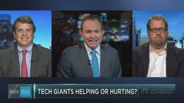 Are the tech giants helping or hurting?