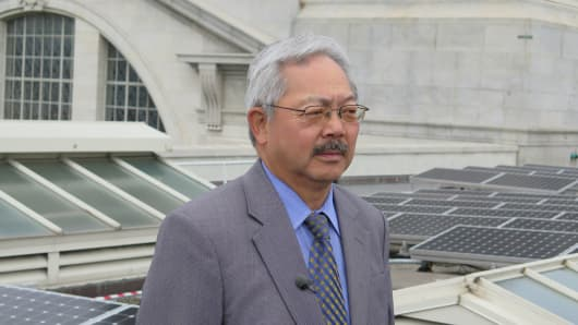 Mayor Edwin M. Lee, of San Francisco, California