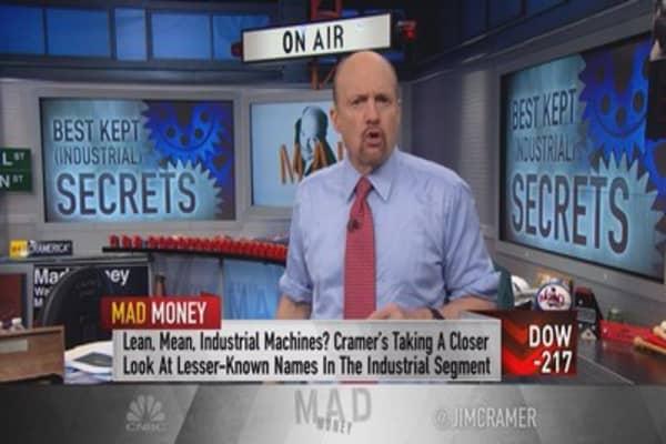 Cramer's 'dirty half-dozen' industrials getting ready to explode higher