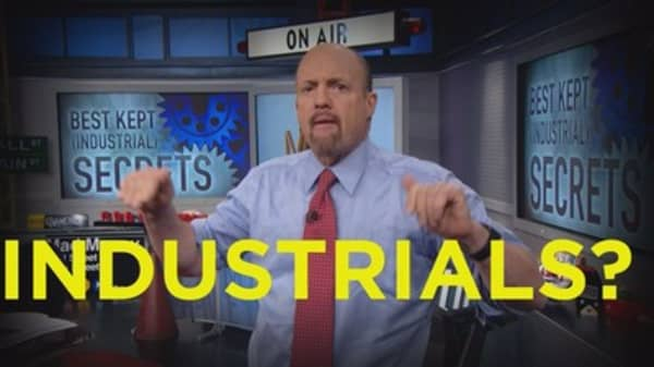 Cramer Remix: Outperforming industrials you've never heard of