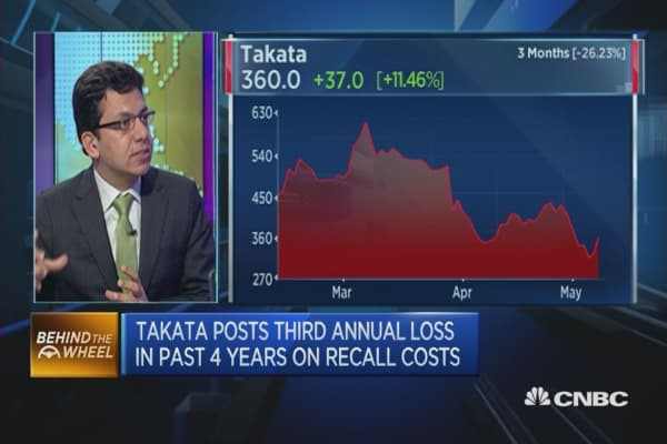 Takata Earnings