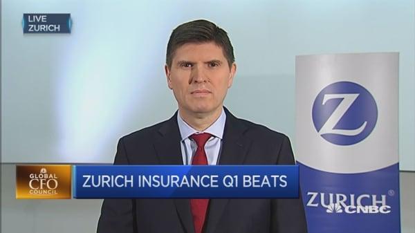 Zurich Insurance returns to profit