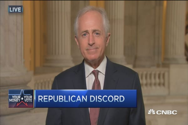 Sen. Corker: GOP coming together