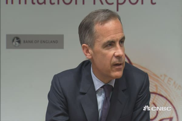 Brexit could lead to negative spillovers: BoE Carney