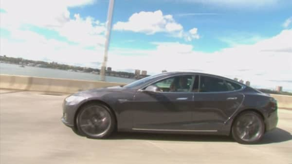 Tesla could be chasing the police cruiser market