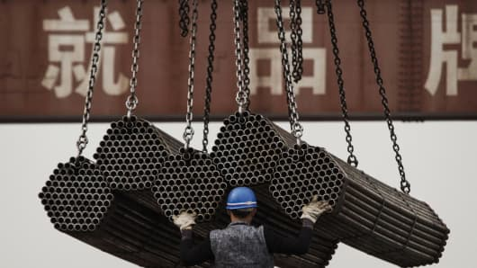 Chinese steel companies are a key source of risky debt.