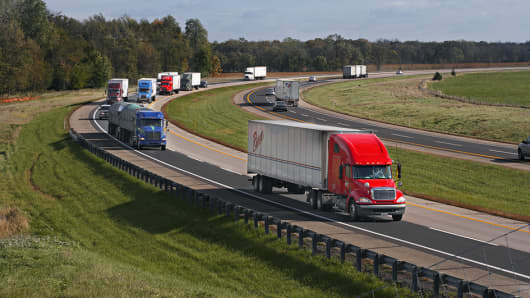 CalPERS is now an investor in the Indiana Toll Road, which carries on average 50 million vehicles annually.