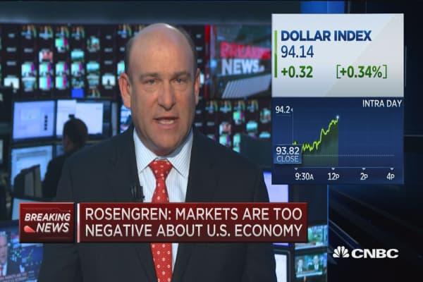 Rosengren on markets, rates