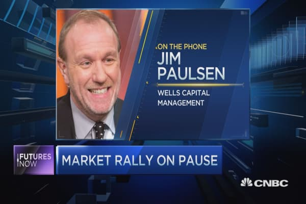 Stocks headed to new highs: Paulsen