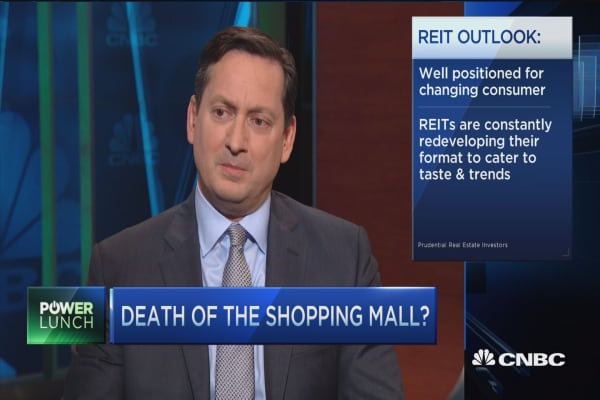 Death of the shopping mall?