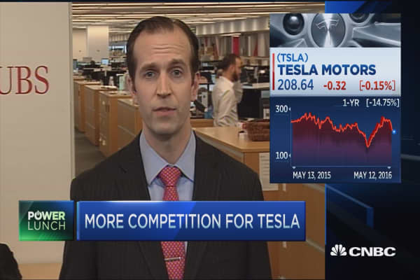 More competition for Tesla