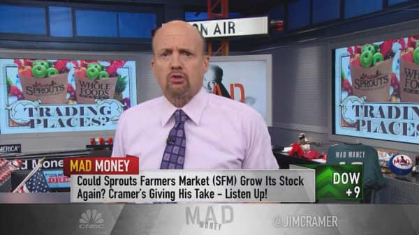 Cramer: Something bizarre just happened with supermarkets