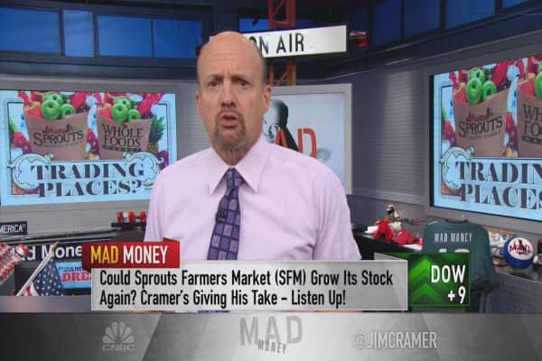 Cramer: Something bizarre just happened with supermarkets
