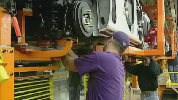 US manufacturing workers suffering from low wages