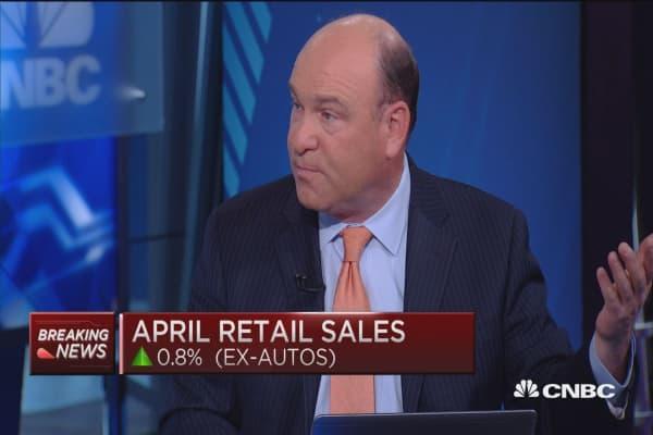 April PPI up 0.2%, retail sales up 1.3%