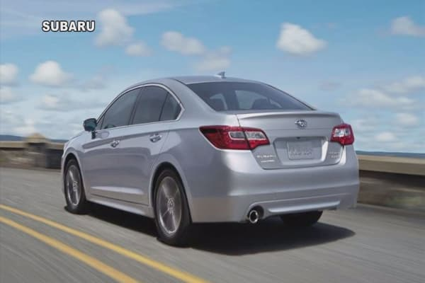 Subaru tells Legacy and Outback owners not to drive