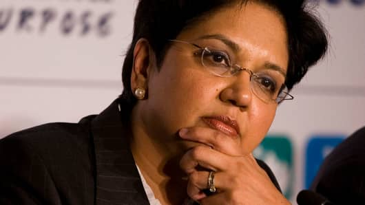 Indra Nooyi, Chairman & Chief Executive Officer of PepsiCo