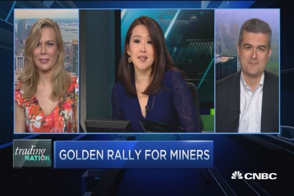 Trading Nation: Golden rally for miners