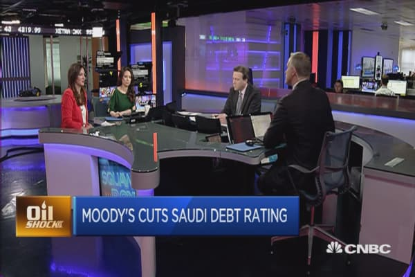 Saudi Arabia hit by Moody's cut