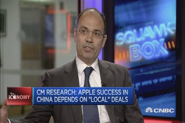 Apple could disrupt the TV market: CM Research