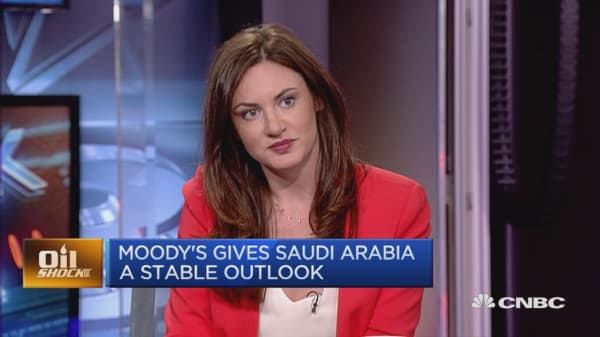 Can Saudi Arabia move away from oil fast enough?