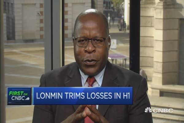Precious metal price trend encouraging: Lonmin CEO