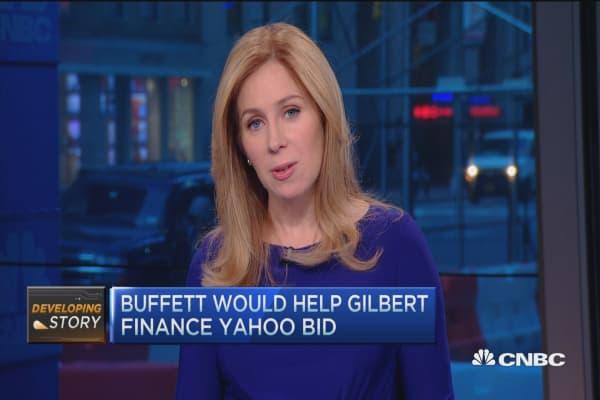 Buffett may finance Gilbert's bid for Yahoo